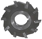 Фреза дисковая 3-х сторонняя 110х24х40, Z= 6 ВК8 со вставными ножами