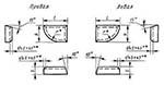 Пластина 20070 Т15К6 правая (20х16х3,5х16х15гр.) (для торцовых фрез и цековок)