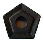 Пластина PNUM - 130612 Т5К10(Н30) пятигранная dвн=8мм (10114) со стружколомом