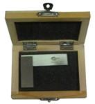 """Угольник УШ 60х40 поверочный слесарный с широким основанием кл.т.1 (в деревянной коробке) """"GRIFF"""""""